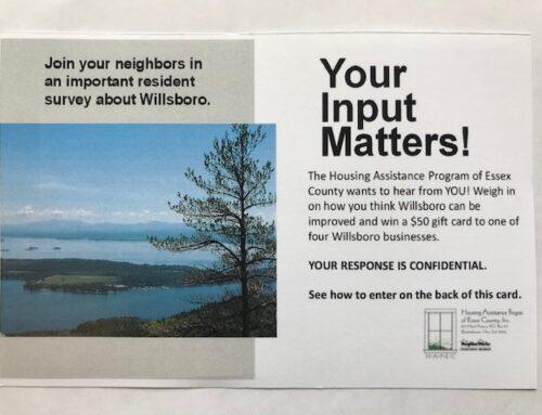 Willsboro Community Survey!